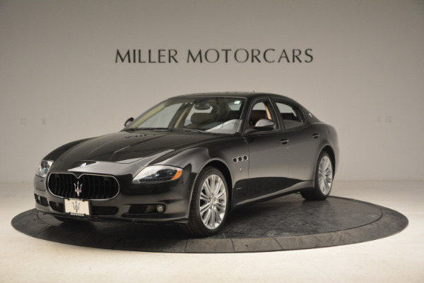Used 2013 Maserati Quattroporte S for sale Sold at Alfa Romeo of Westport in Westport CT 06880 1