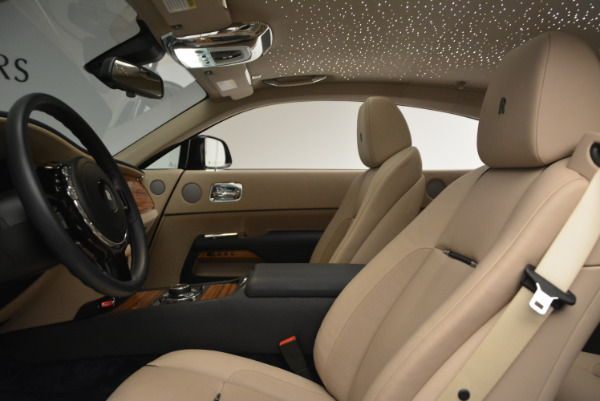 Used 2015 Rolls-Royce Wraith for sale $178,900 at Alfa Romeo of Westport in Westport CT 06880 18