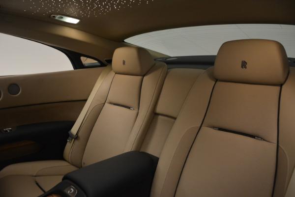Used 2015 Rolls-Royce Wraith for sale $178,900 at Alfa Romeo of Westport in Westport CT 06880 23