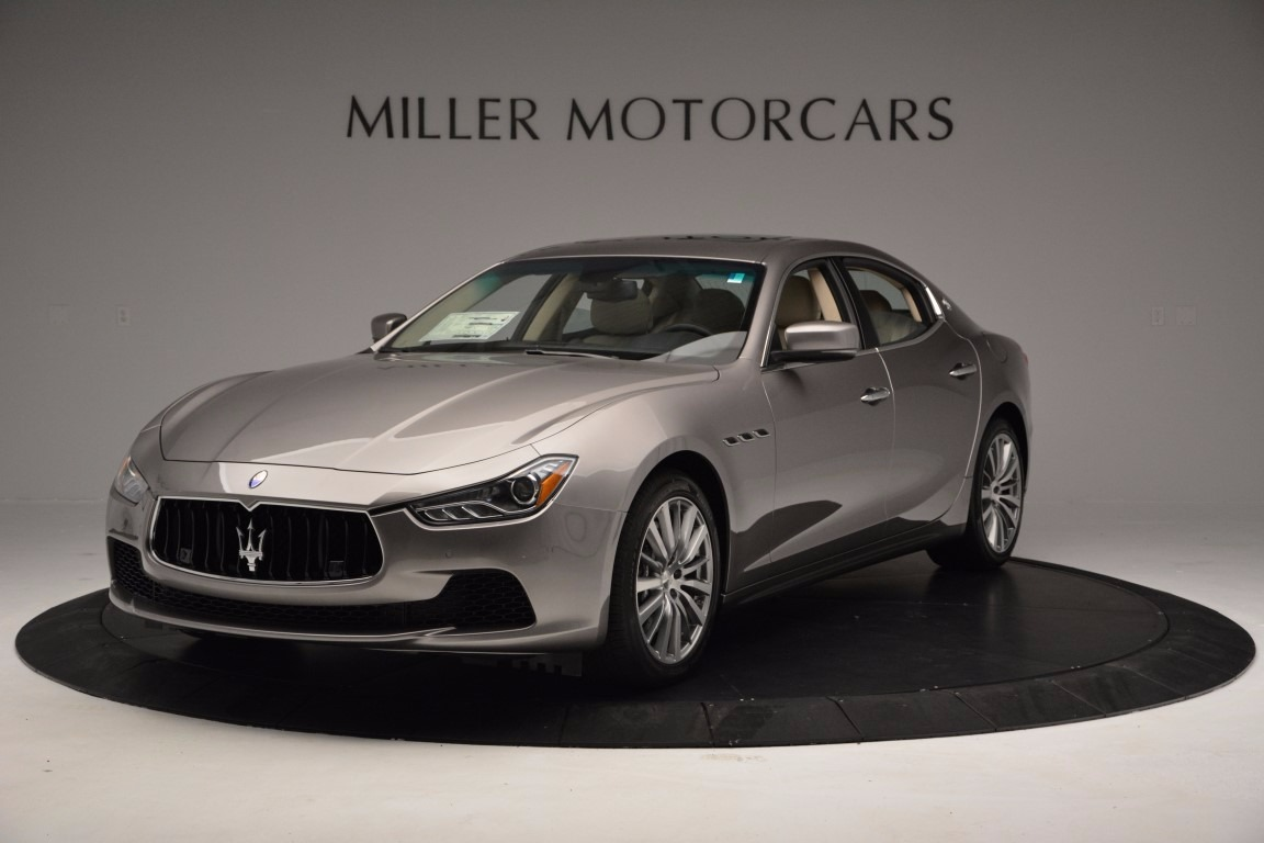 New 2017 Maserati Ghibli S Q4 EX-Loaner for sale Sold at Alfa Romeo of Westport in Westport CT 06880 1