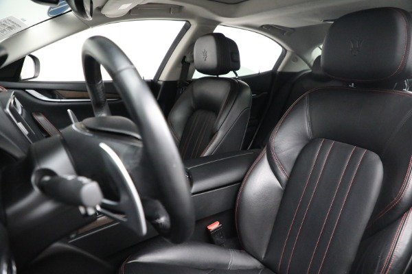 New 2017 Maserati Ghibli S Q4 EX-Loaner for sale Sold at Alfa Romeo of Westport in Westport CT 06880 15
