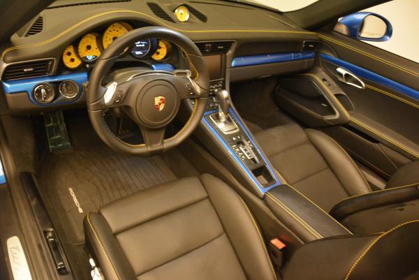 Used 2014 Porsche 911 Turbo S for sale Sold at Alfa Romeo of Westport in Westport CT 06880 18