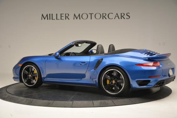 Used 2014 Porsche 911 Turbo S for sale Sold at Alfa Romeo of Westport in Westport CT 06880 4