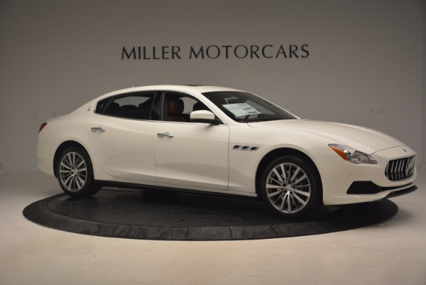 Used 2017 Maserati Quattroporte SQ4 for sale $53,900 at Alfa Romeo of Westport in Westport CT 06880 10