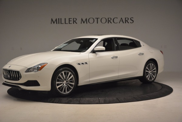 Used 2017 Maserati Quattroporte SQ4 for sale $53,900 at Alfa Romeo of Westport in Westport CT 06880 2