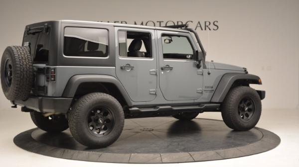 Used 2014 Jeep Wrangler Unlimited Sport for sale Sold at Alfa Romeo of Westport in Westport CT 06880 10