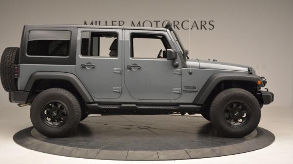 Used 2014 Jeep Wrangler Unlimited Sport for sale Sold at Alfa Romeo of Westport in Westport CT 06880 11