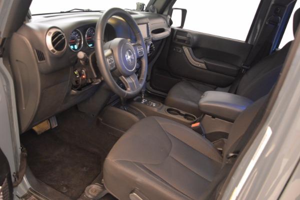 Used 2014 Jeep Wrangler Unlimited Sport for sale Sold at Alfa Romeo of Westport in Westport CT 06880 14