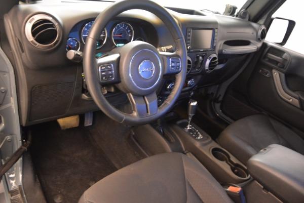Used 2014 Jeep Wrangler Unlimited Sport for sale Sold at Alfa Romeo of Westport in Westport CT 06880 15
