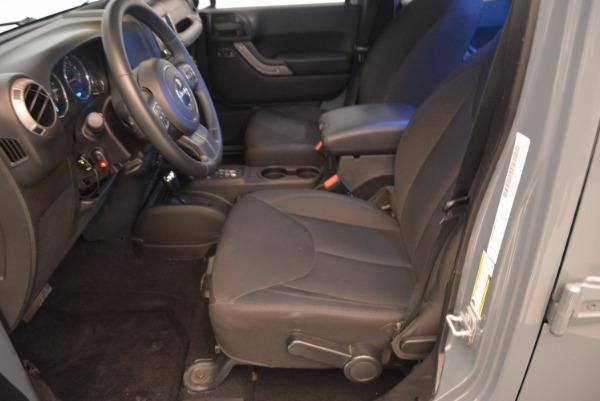 Used 2014 Jeep Wrangler Unlimited Sport for sale Sold at Alfa Romeo of Westport in Westport CT 06880 16