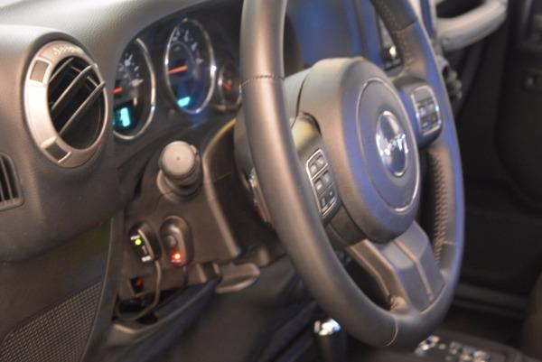 Used 2014 Jeep Wrangler Unlimited Sport for sale Sold at Alfa Romeo of Westport in Westport CT 06880 17