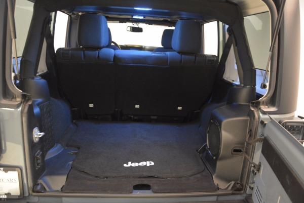 Used 2014 Jeep Wrangler Unlimited Sport for sale Sold at Alfa Romeo of Westport in Westport CT 06880 19