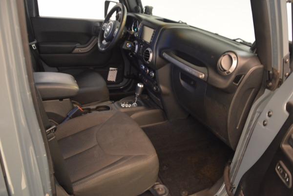 Used 2014 Jeep Wrangler Unlimited Sport for sale Sold at Alfa Romeo of Westport in Westport CT 06880 21