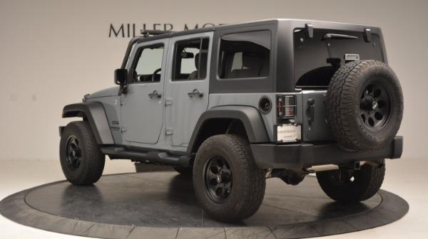 Used 2014 Jeep Wrangler Unlimited Sport for sale Sold at Alfa Romeo of Westport in Westport CT 06880 5