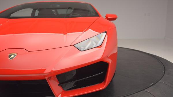 Used 2016 Lamborghini Huracan LP 580-2 for sale Sold at Alfa Romeo of Westport in Westport CT 06880 15