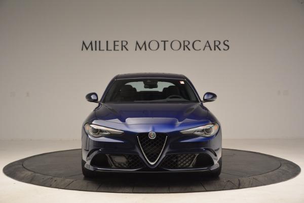 New 2017 Alfa Romeo Giulia Quadrifoglio for sale Sold at Alfa Romeo of Westport in Westport CT 06880 12