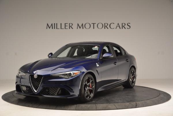 New 2017 Alfa Romeo Giulia Quadrifoglio for sale Sold at Alfa Romeo of Westport in Westport CT 06880 1
