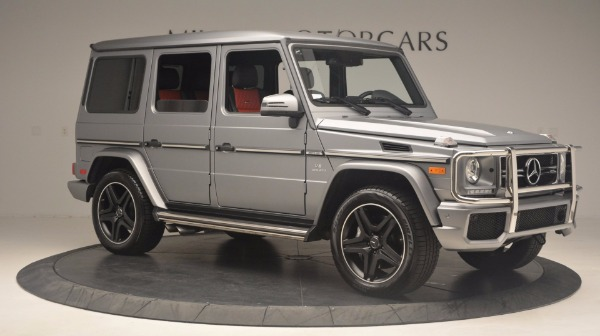 Used 2016 Mercedes Benz G-Class G 63 AMG for sale Sold at Alfa Romeo of Westport in Westport CT 06880 10
