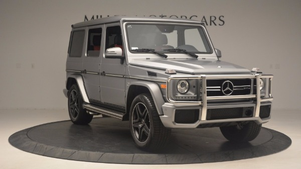 Used 2016 Mercedes Benz G-Class G 63 AMG for sale Sold at Alfa Romeo of Westport in Westport CT 06880 11
