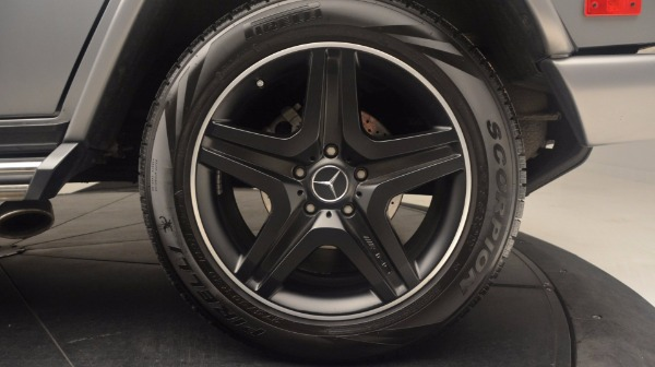 Used 2016 Mercedes Benz G-Class G 63 AMG for sale Sold at Alfa Romeo of Westport in Westport CT 06880 13