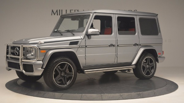 Used 2016 Mercedes Benz G-Class G 63 AMG for sale Sold at Alfa Romeo of Westport in Westport CT 06880 2