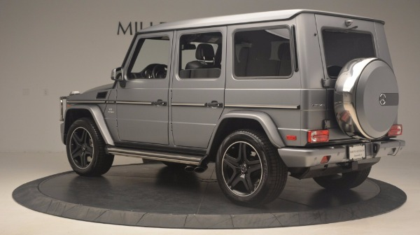 Used 2016 Mercedes Benz G-Class G 63 AMG for sale Sold at Alfa Romeo of Westport in Westport CT 06880 4