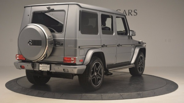 Used 2016 Mercedes Benz G-Class G 63 AMG for sale Sold at Alfa Romeo of Westport in Westport CT 06880 7