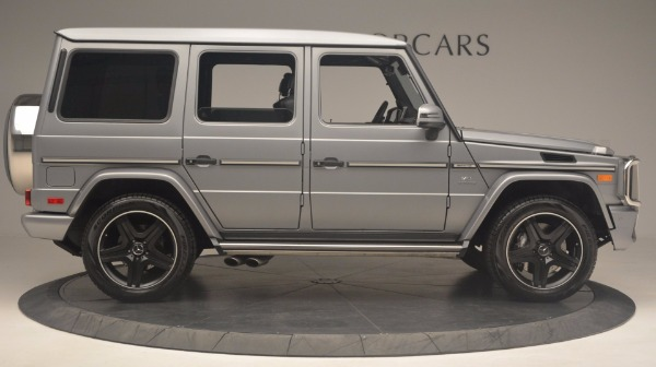 Used 2016 Mercedes Benz G-Class G 63 AMG for sale Sold at Alfa Romeo of Westport in Westport CT 06880 9