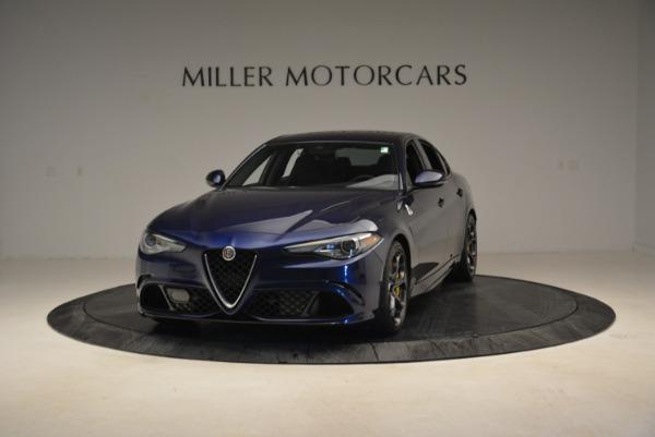 Used 2017 Alfa Romeo Giulia Quadrifoglio for sale Sold at Alfa Romeo of Westport in Westport CT 06880 1
