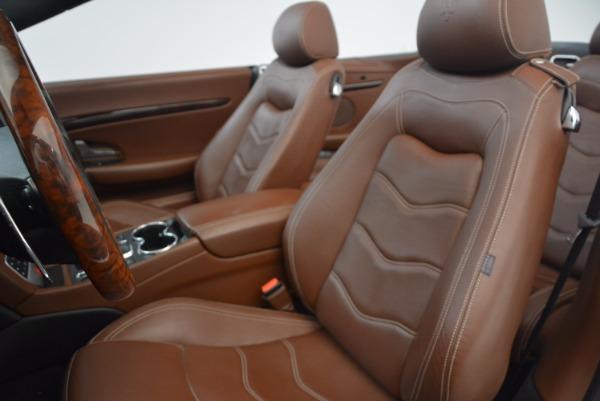 Used 2012 Maserati GranTurismo Sport for sale Sold at Alfa Romeo of Westport in Westport CT 06880 23