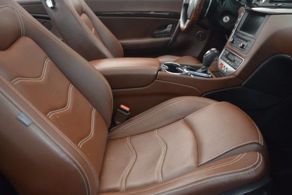 Used 2012 Maserati GranTurismo Sport for sale Sold at Alfa Romeo of Westport in Westport CT 06880 28