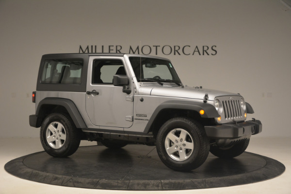 Used 2015 Jeep Wrangler Sport for sale Sold at Alfa Romeo of Westport in Westport CT 06880 10