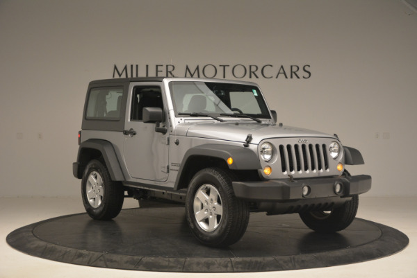 Used 2015 Jeep Wrangler Sport for sale Sold at Alfa Romeo of Westport in Westport CT 06880 11