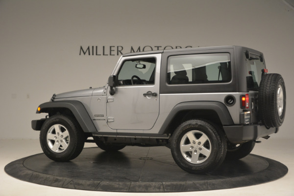 Used 2015 Jeep Wrangler Sport for sale Sold at Alfa Romeo of Westport in Westport CT 06880 4
