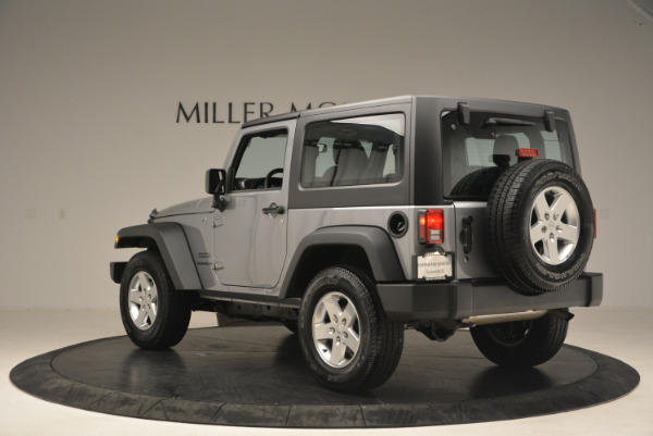 Used 2015 Jeep Wrangler Sport for sale Sold at Alfa Romeo of Westport in Westport CT 06880 5