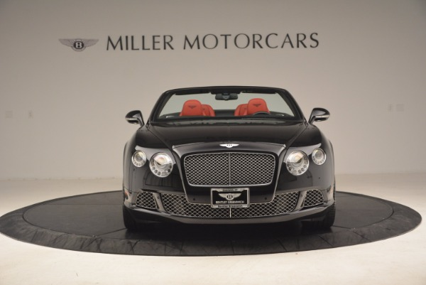 Used 2012 Bentley Continental GT W12 Convertible for sale Sold at Alfa Romeo of Westport in Westport CT 06880 12