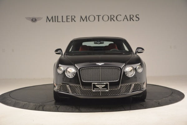 Used 2012 Bentley Continental GT W12 Convertible for sale Sold at Alfa Romeo of Westport in Westport CT 06880 13
