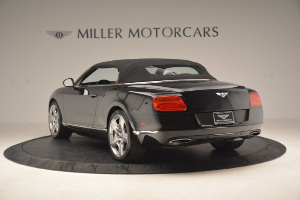 Used 2012 Bentley Continental GT W12 Convertible for sale Sold at Alfa Romeo of Westport in Westport CT 06880 18