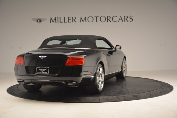 Used 2012 Bentley Continental GT W12 Convertible for sale Sold at Alfa Romeo of Westport in Westport CT 06880 20