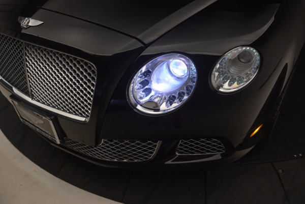 Used 2012 Bentley Continental GT W12 Convertible for sale Sold at Alfa Romeo of Westport in Westport CT 06880 28