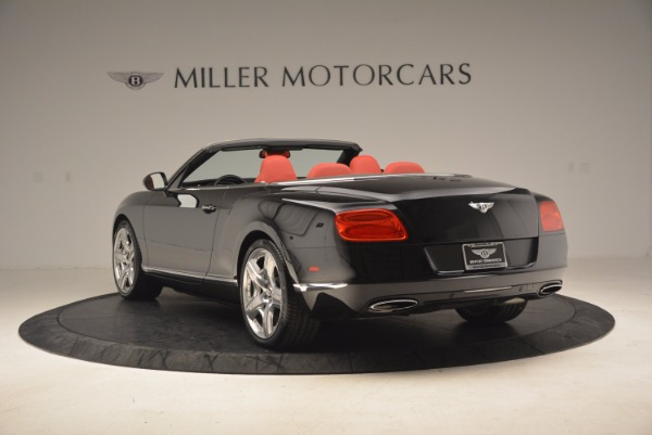 Used 2012 Bentley Continental GT W12 Convertible for sale Sold at Alfa Romeo of Westport in Westport CT 06880 5