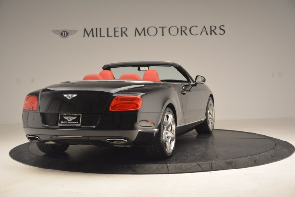 Used 2012 Bentley Continental GT W12 Convertible for sale Sold at Alfa Romeo of Westport in Westport CT 06880 7