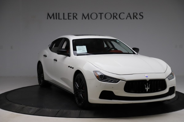 Used 2017 Maserati Ghibli S Q4 for sale Sold at Alfa Romeo of Westport in Westport CT 06880 11
