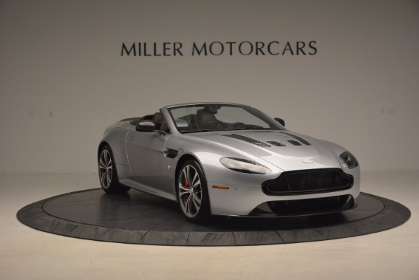 Used 2015 Aston Martin V12 Vantage S Roadster for sale Sold at Alfa Romeo of Westport in Westport CT 06880 11