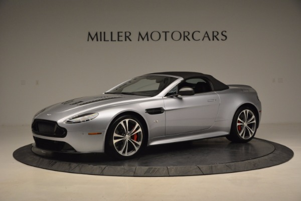 Used 2015 Aston Martin V12 Vantage S Roadster for sale Sold at Alfa Romeo of Westport in Westport CT 06880 14