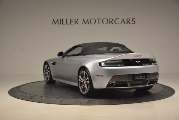 Used 2015 Aston Martin V12 Vantage S Roadster for sale Sold at Alfa Romeo of Westport in Westport CT 06880 17