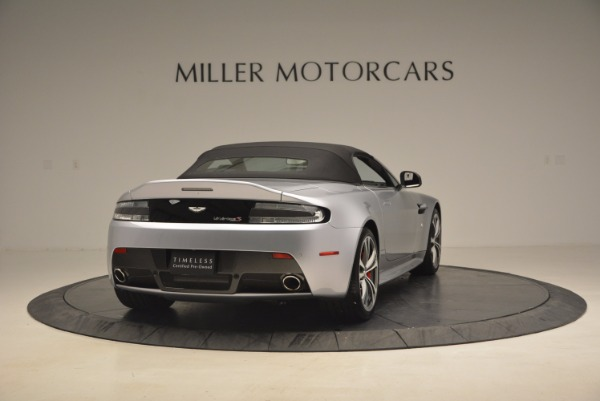 Used 2015 Aston Martin V12 Vantage S Roadster for sale Sold at Alfa Romeo of Westport in Westport CT 06880 19
