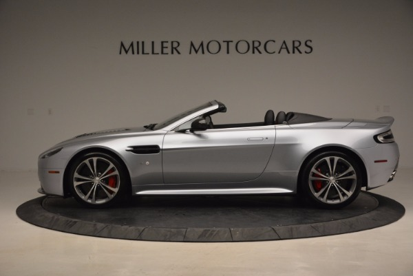 Used 2015 Aston Martin V12 Vantage S Roadster for sale Sold at Alfa Romeo of Westport in Westport CT 06880 3