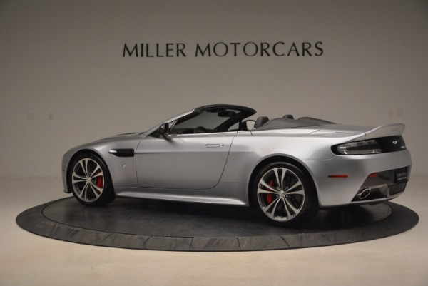 Used 2015 Aston Martin V12 Vantage S Roadster for sale Sold at Alfa Romeo of Westport in Westport CT 06880 4
