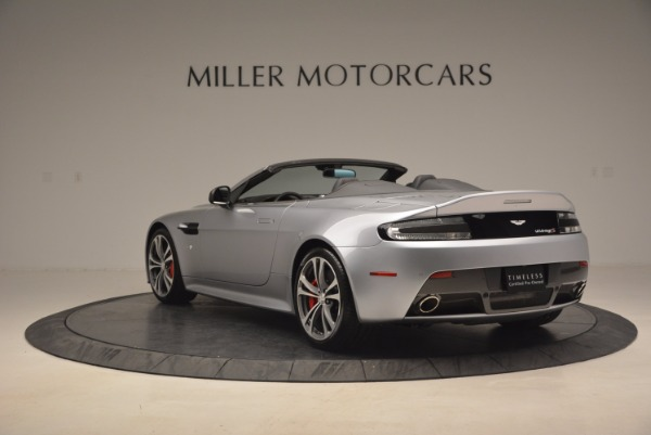Used 2015 Aston Martin V12 Vantage S Roadster for sale Sold at Alfa Romeo of Westport in Westport CT 06880 5